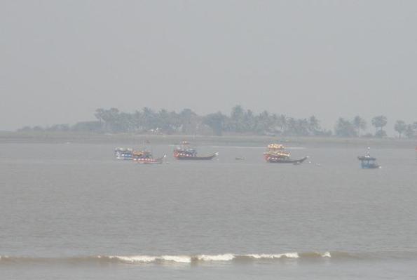 Arnala Fort View from  Arnala beach virar beach
