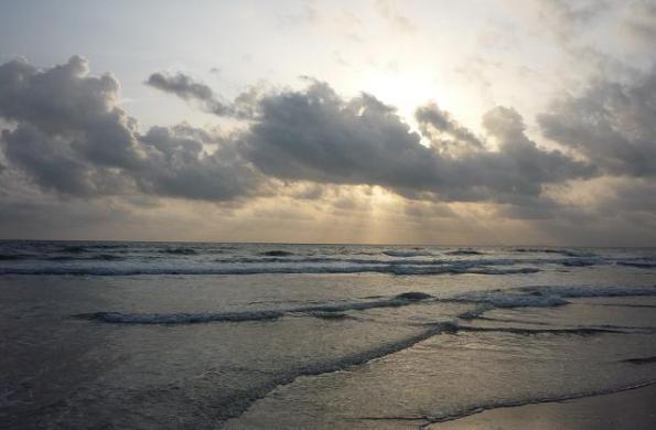 Sunset  at  Arnala beach virar beach